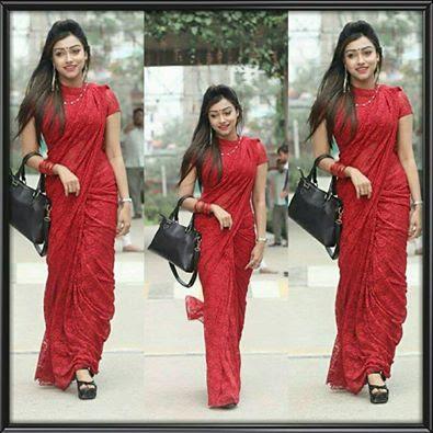 valentines day sari Dress Sarees