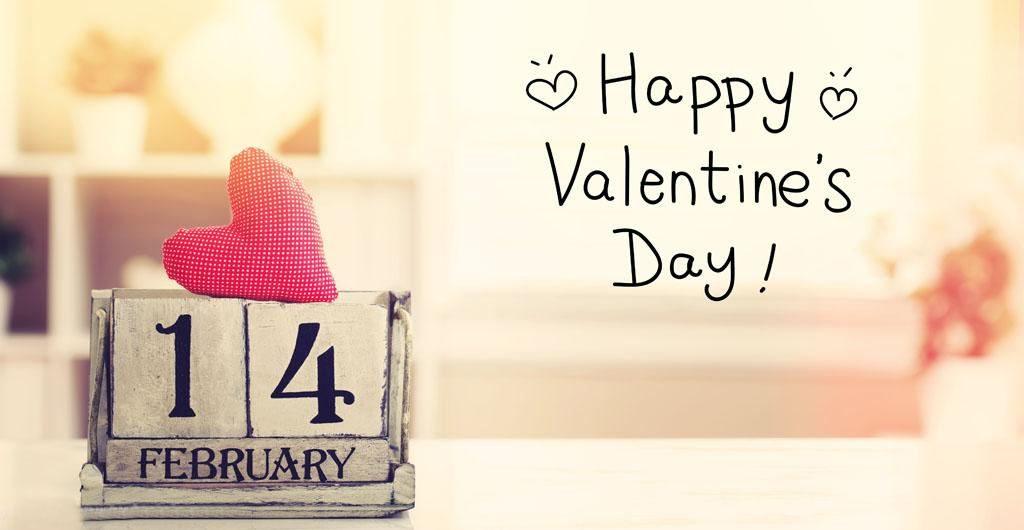 14 february valentine day calneder