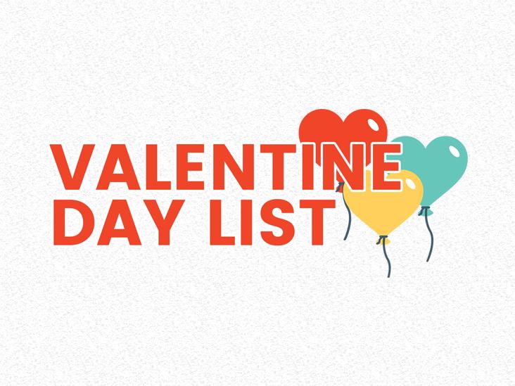 valentinedaylist