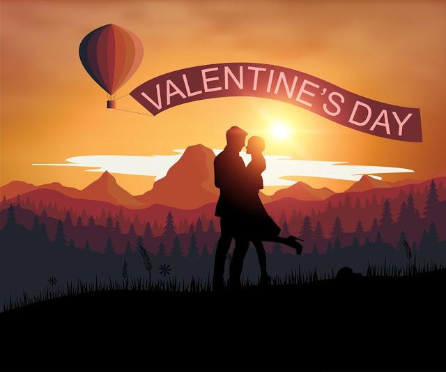 Romantic Valentine Lovers