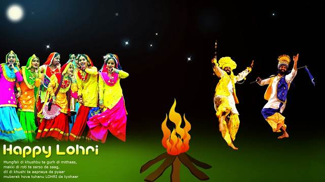 happy lohri images Festival hd