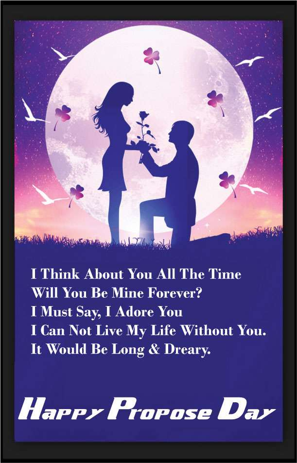 Happy Propose Day 2018 Date Propose Quotes Images Sms