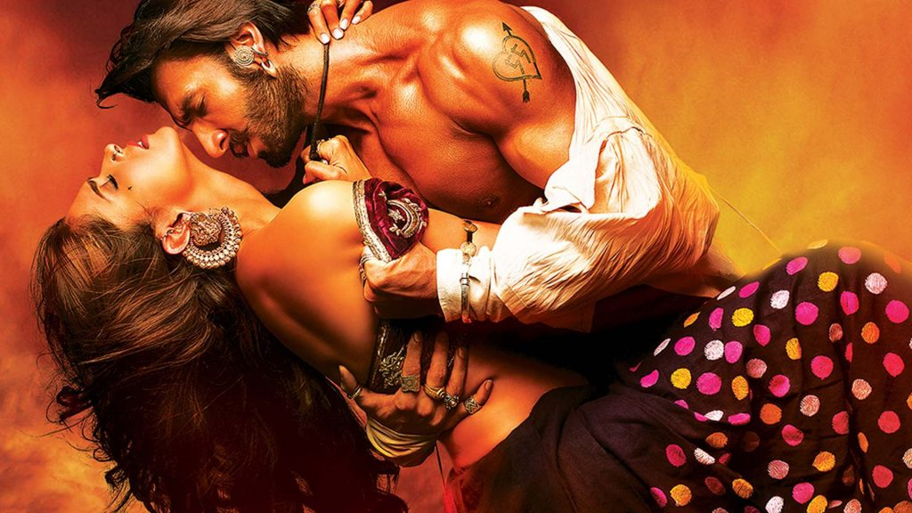 Kiss Day HD Images From Ram Leela Movie
