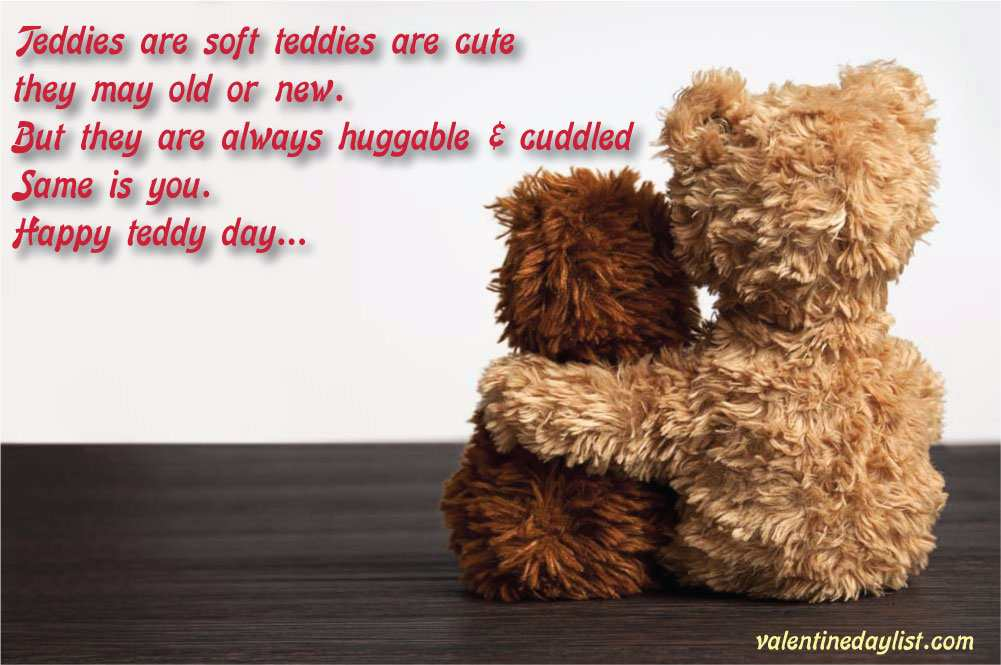 Teddy Bear Day Images Quotes