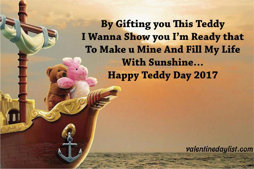 Teddy Bear Day Images with Quotes