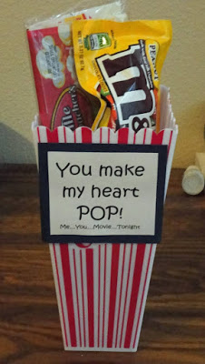 valentines heart pop gift