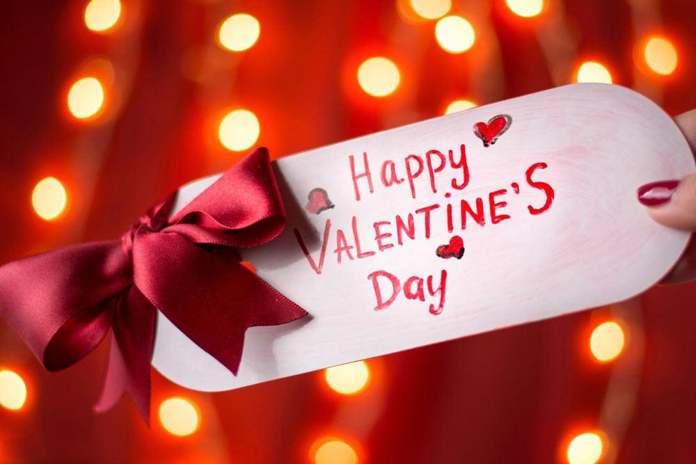 valentine gift card