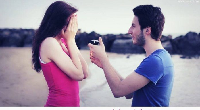 Propose Day girl pic