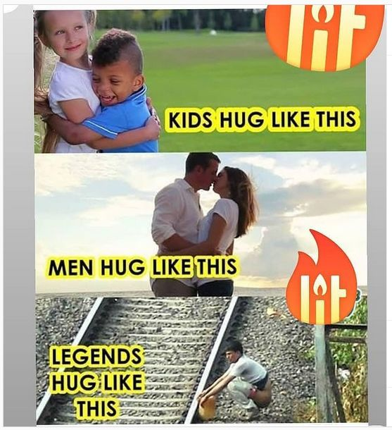 Funny Memes Hug Day